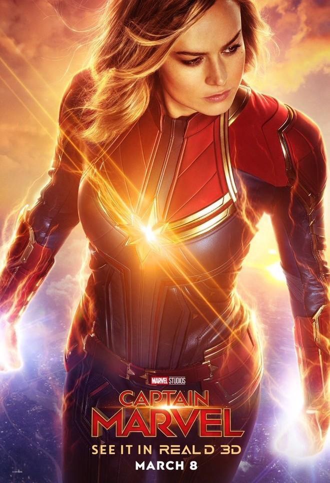 """""""캡틴 마블"""" 포스터들 입니다."""