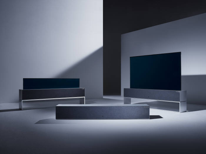 LG 전자 롤러블 OLED TV를 공개했네요