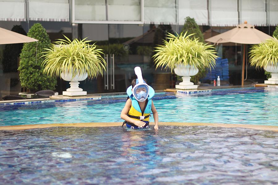 2019 태국 가족여행 방콕 일정 2일차-물놀이, 짜뚜..