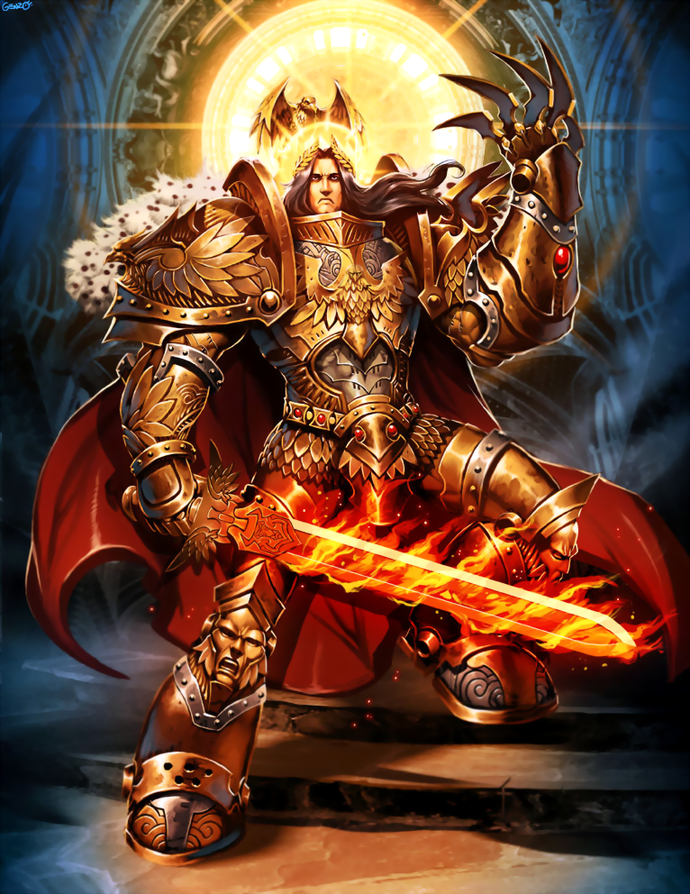[TS] God emperor of mankind