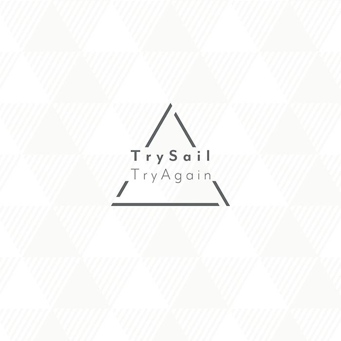 TrySail의 3rd 앨범 'TryAgain'의 재킷 디자인 3종류..