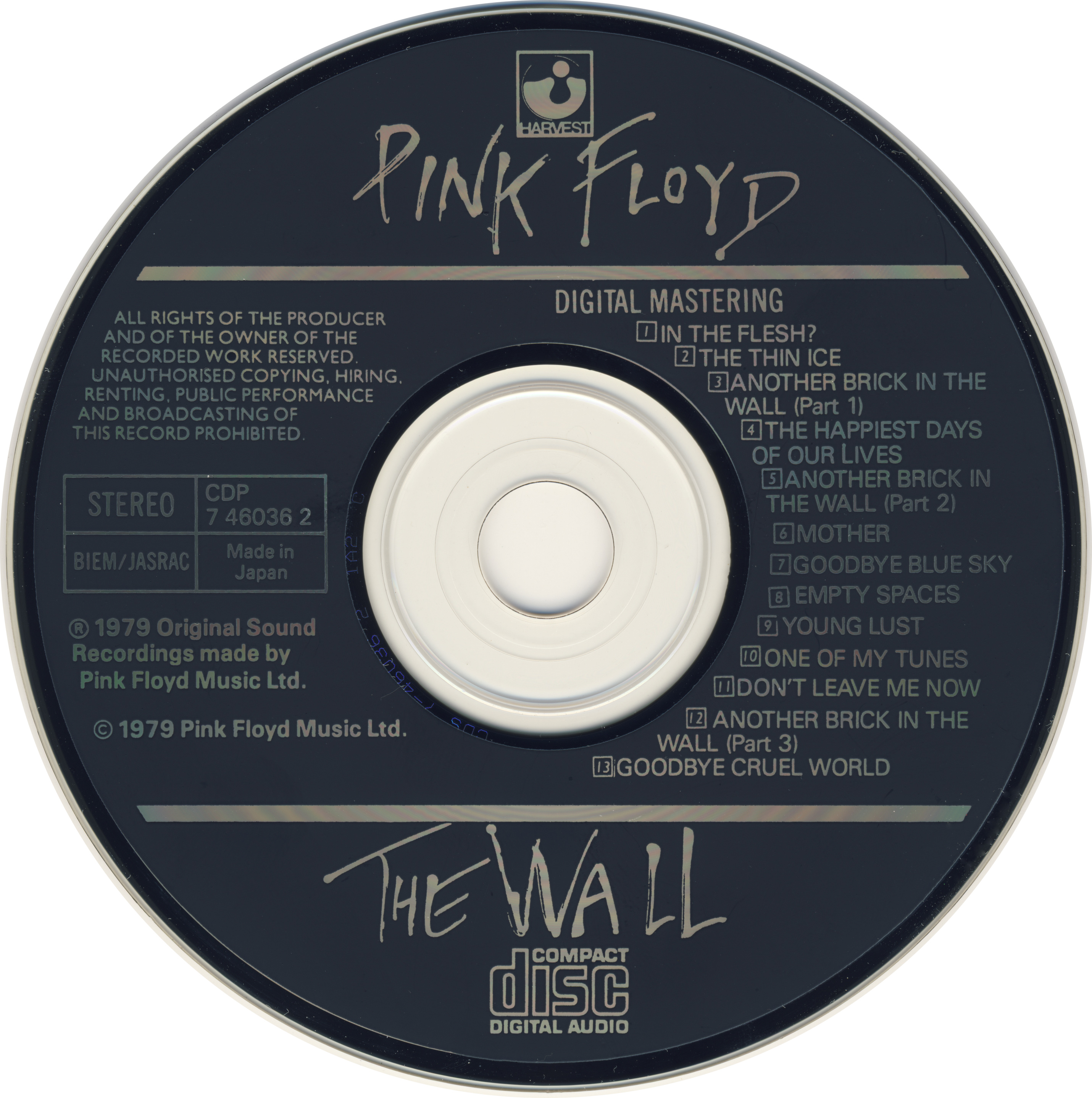 03. ANOTHER BRICK IN THE WALL PART.1 / PIN..