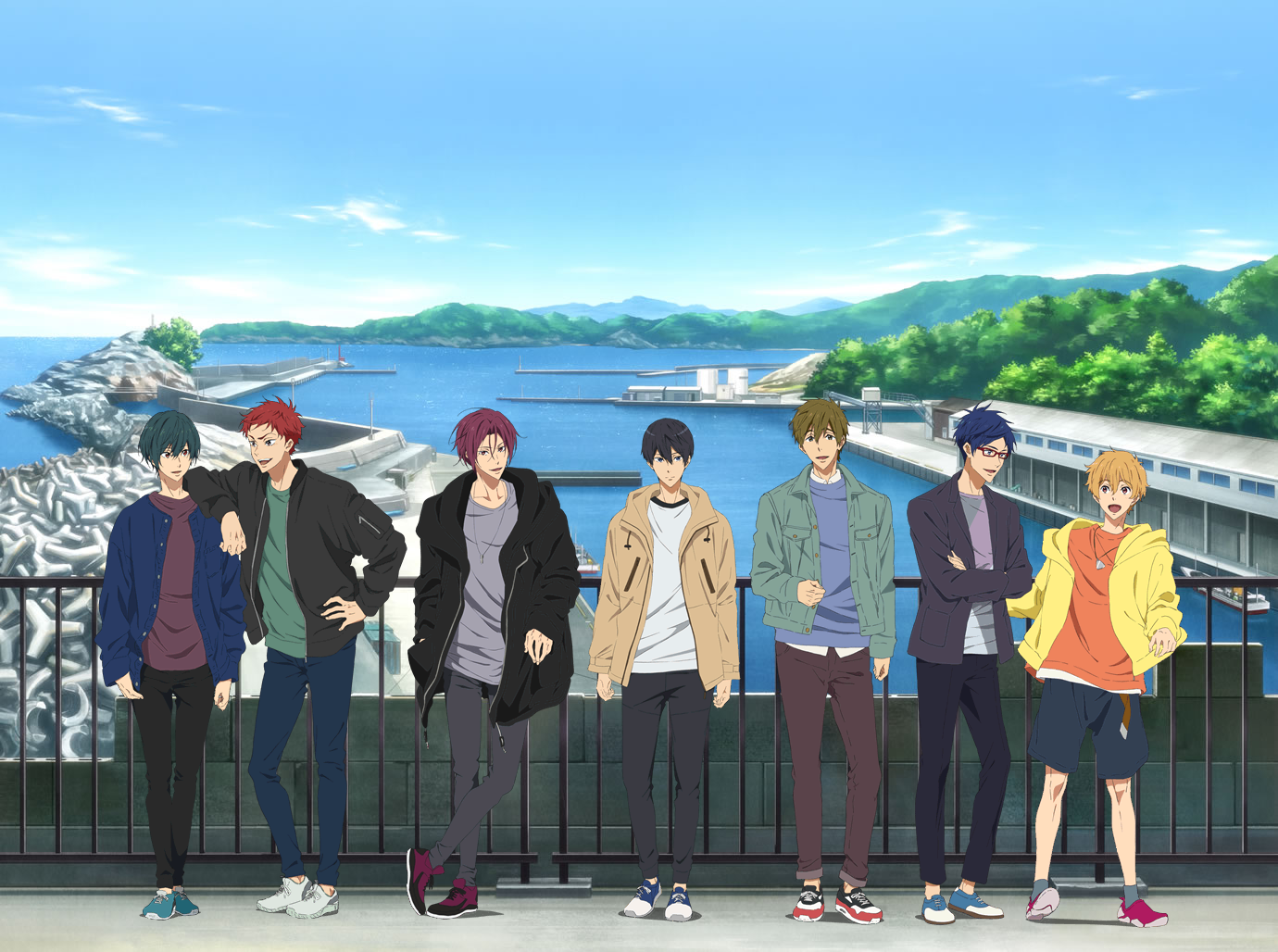 Free! -Dive to the Future- × 이와미정의 콜라..