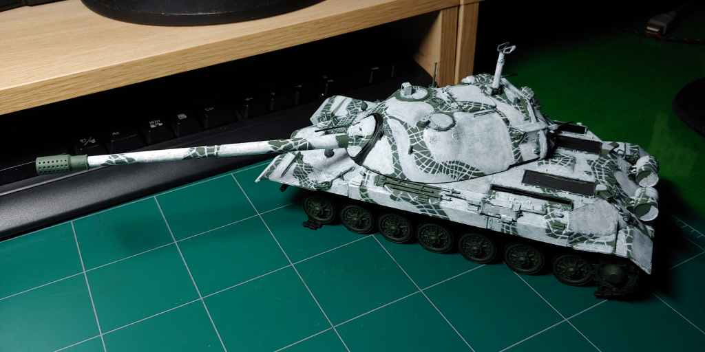 [1/35] Trumpeter IS-7 (JS-7) 도색 일지 - 2