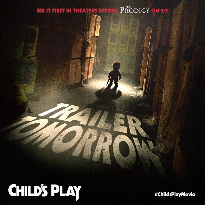 """사탄의 인형의 귀환, """"Child's Play"""" 예고편 입니다."""