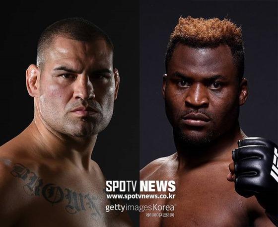 UFC 헤비급, 은가누와 벨라스케즈 대결 예고