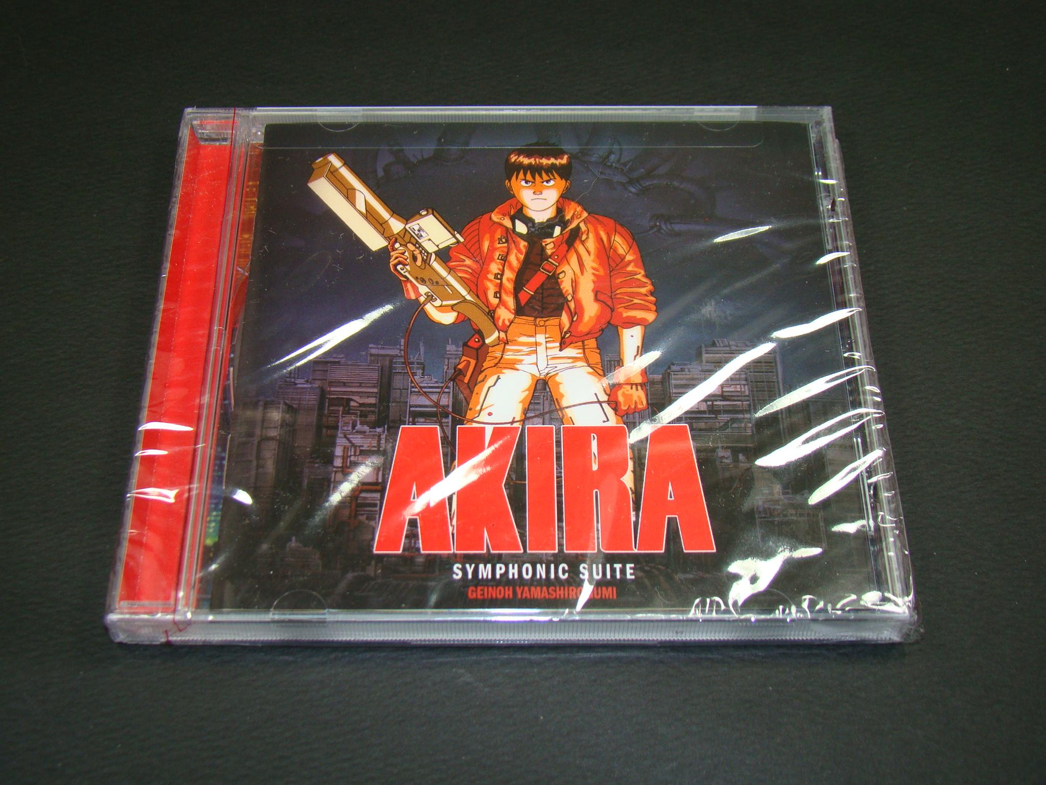 [OST CD] '아키라' 북미판 사운드트랙