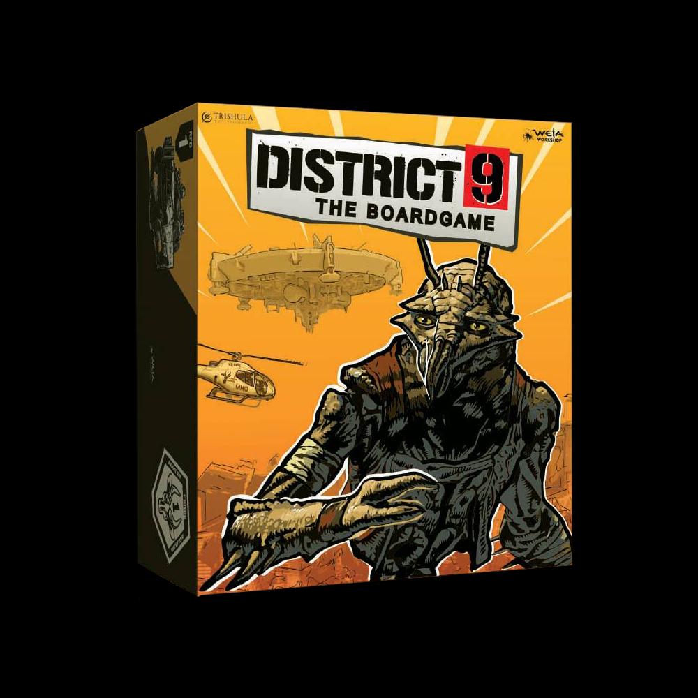 디스트릭트 9(District 9) 보드게임 출시 예정