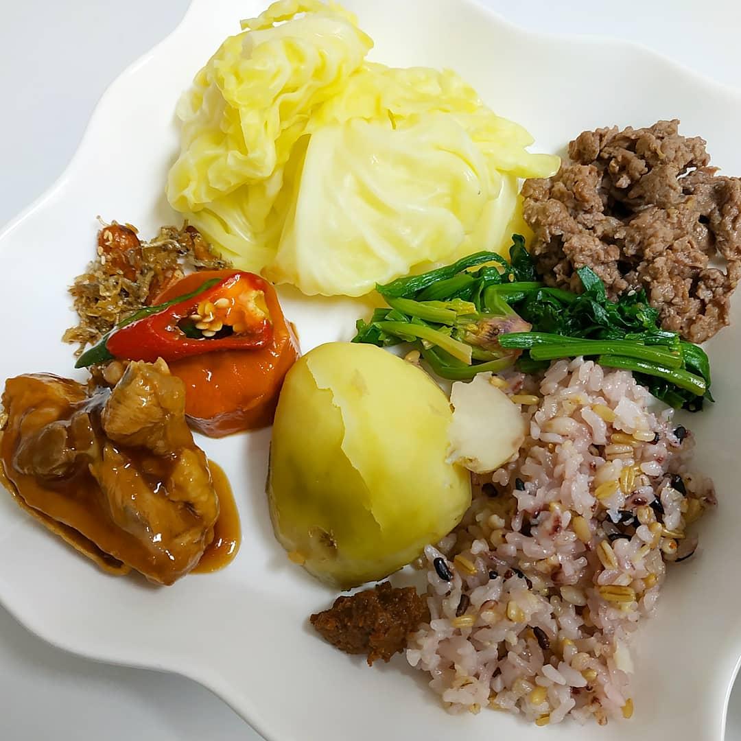집밥과 먹은것들 이것저것