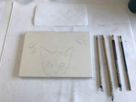 [집사의하루] 반려묘 막내 먼치킨 고양이 민화 ..