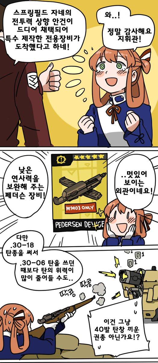 소녀전선. 춘전씨 강화 프로젝트