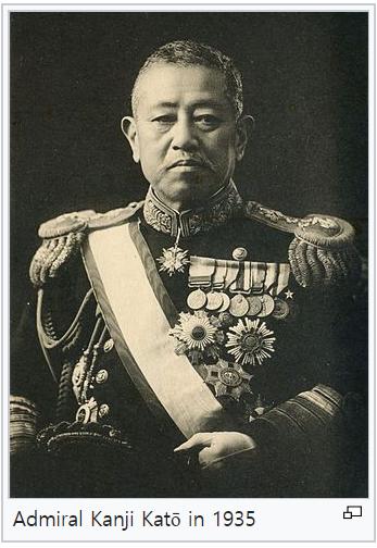 가토 간지, 일본 해군의 간웅?