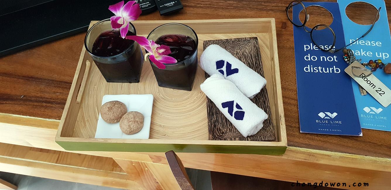 [프놈펜] 개인 수영장 호텔2, 블루라임, Blue L..