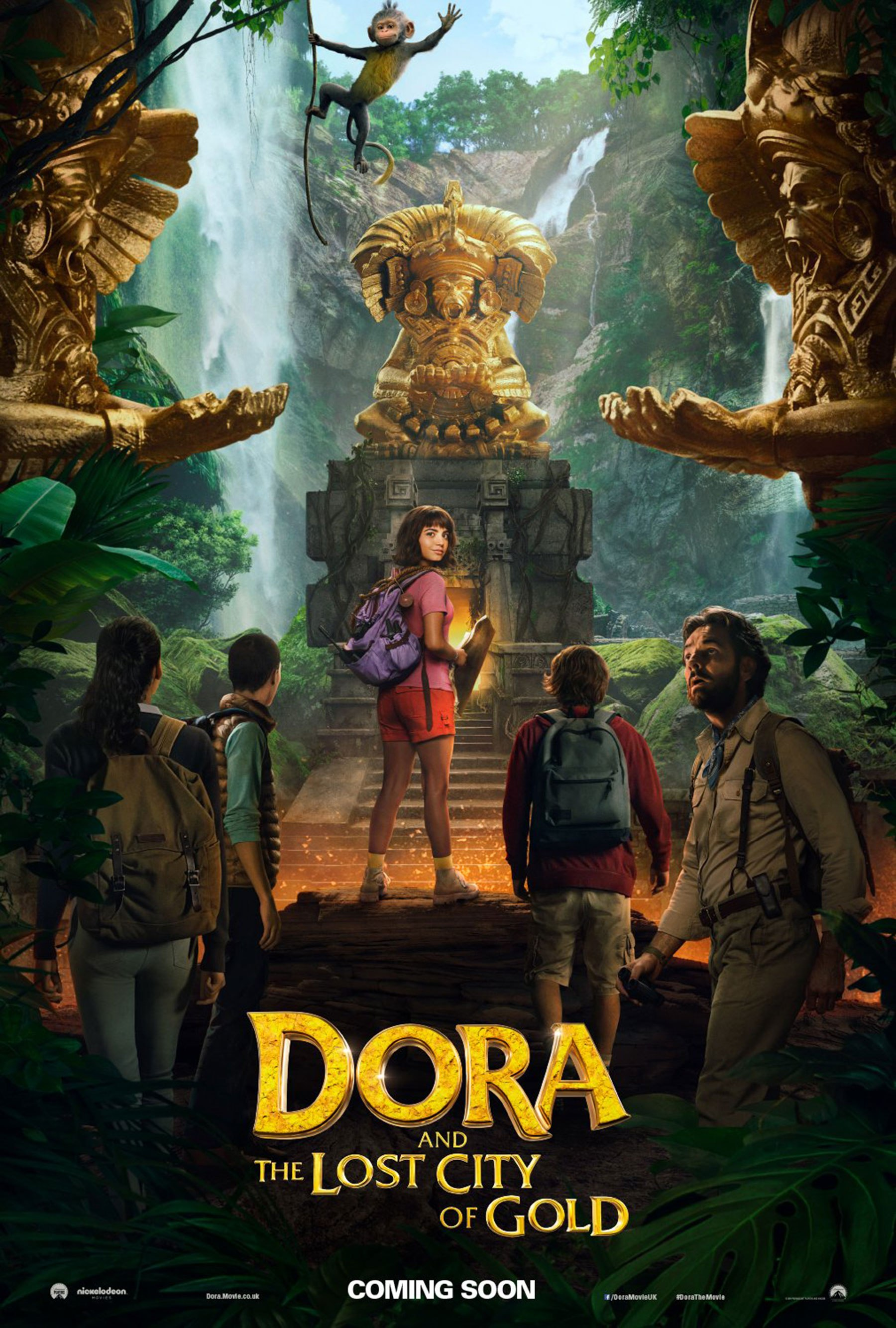 """Dora and the Lost City of Gold"" 라는 작품입니다."