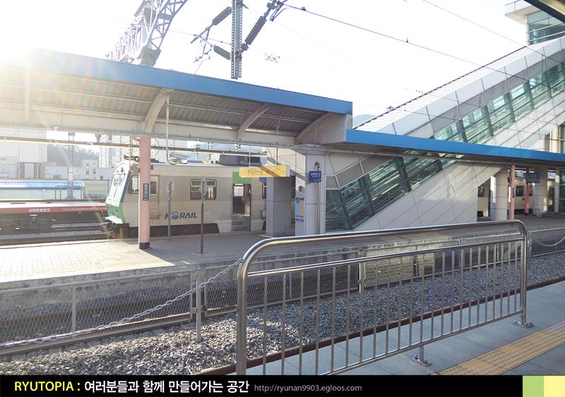 2019.3.31. 경원선 동두천-백마고지역 통근열차 ..