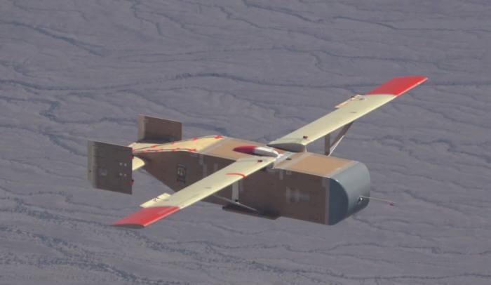 Logistics Gliders의 일회용 나무드론