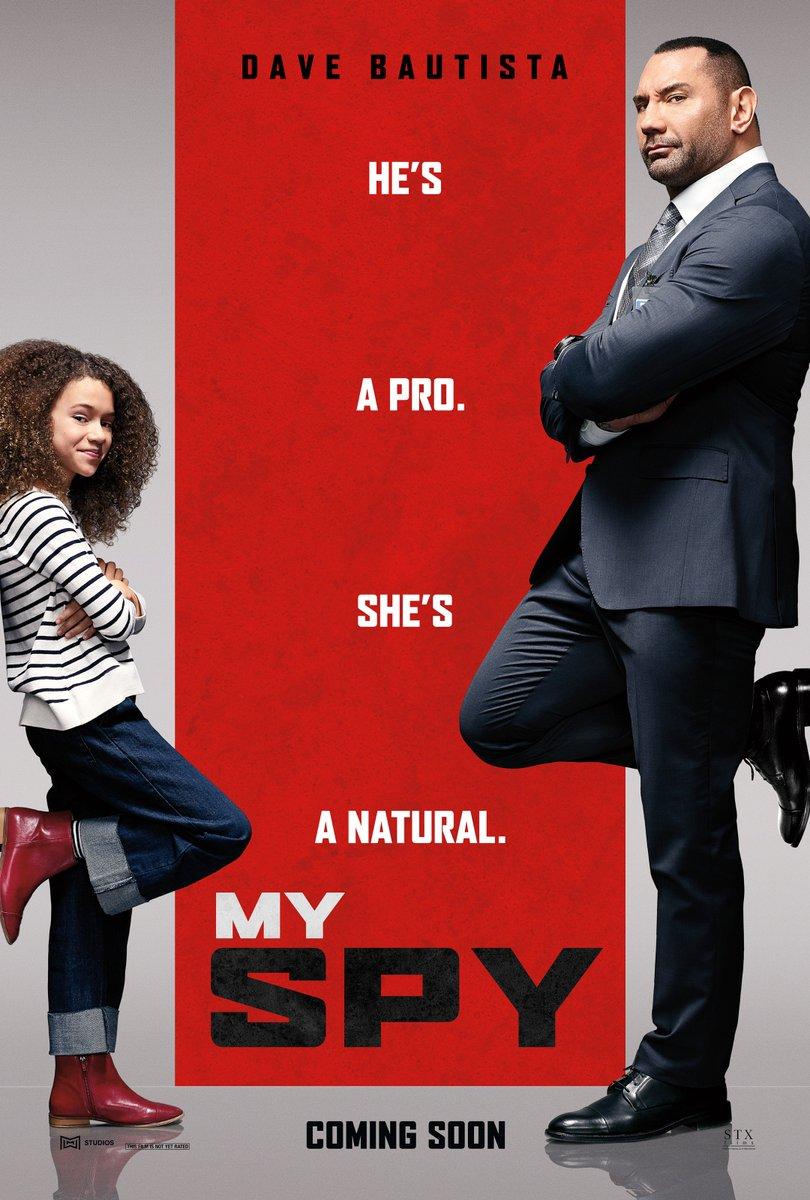 """데이브 바티스타 신작, """"My Spy"""" 입니다."""