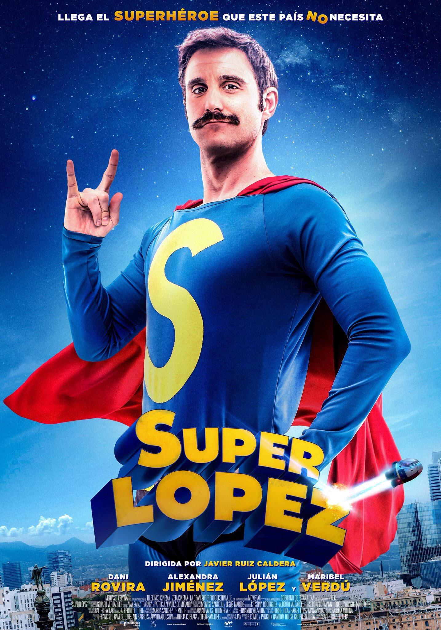 스페인산 슈퍼맨 [슈퍼로페즈] 예고편!