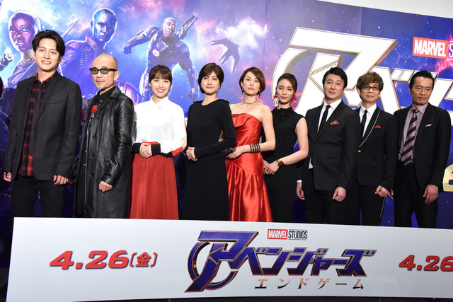 영화 '어벤져스 엔드게임'의 스페셜 스크리닝에 일본..