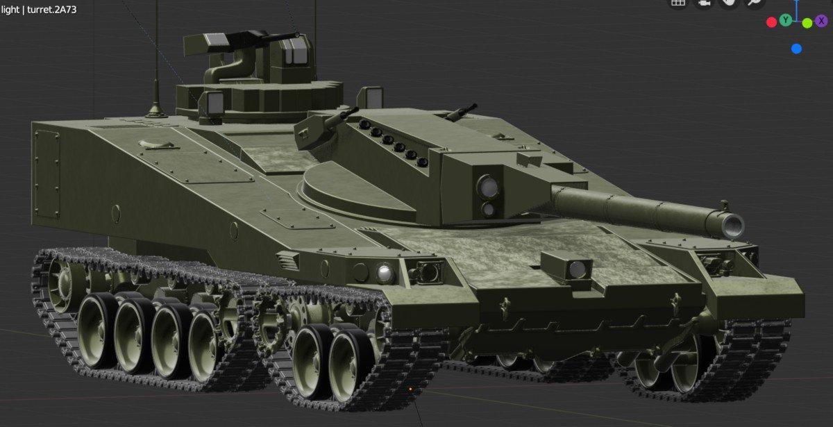 소련 미래 전차의 청사진(농담..?)