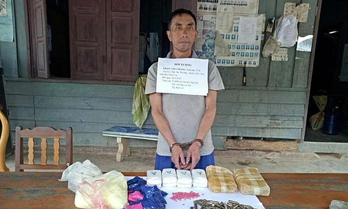 마약과 무기 밀수 혐의 라오스인 체포, 기타 단신