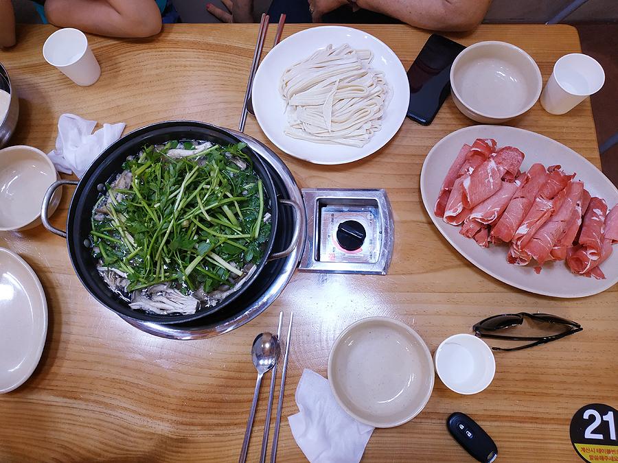 유여사님 생신기념 여행에서 먹은것들(feat.장..