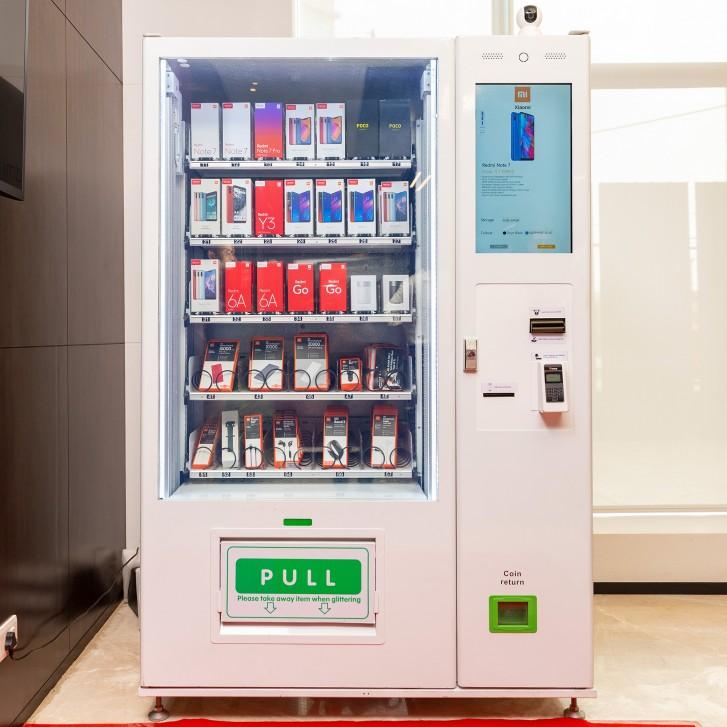 샤오미, 휴대폰 자판기 미 익스프레스 키오스크, ..