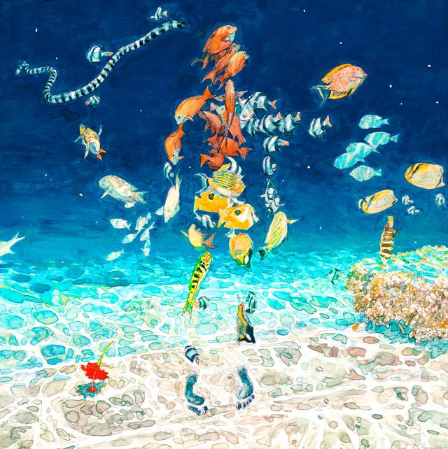만화가 '이가라시 다이스케'씨가 그린 악곡 '바다의 유..