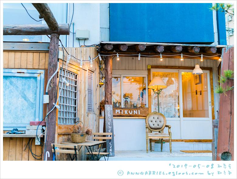 [제주도] 삼양검은모래해변의 작은 천국, 카페..